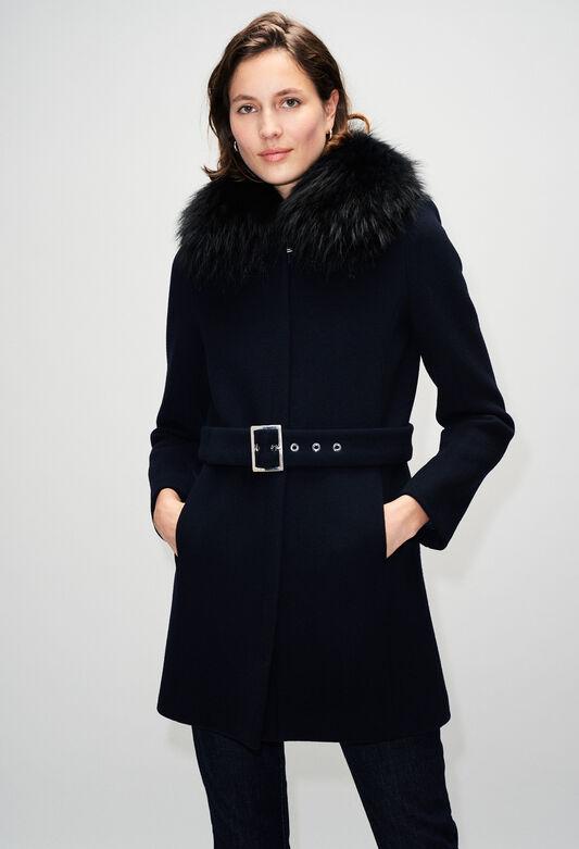 GILLESH19 : Manteaux et Blousons couleur MARINE