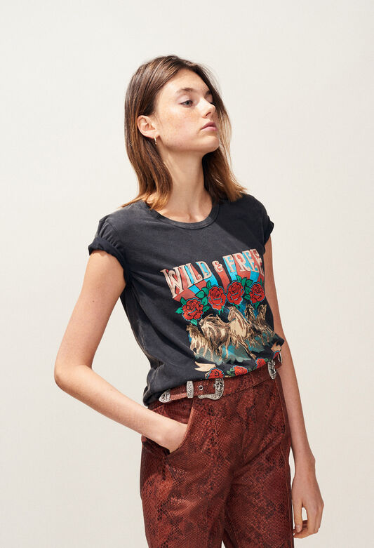 TORMENTO : T-Shirts farbe NOIR