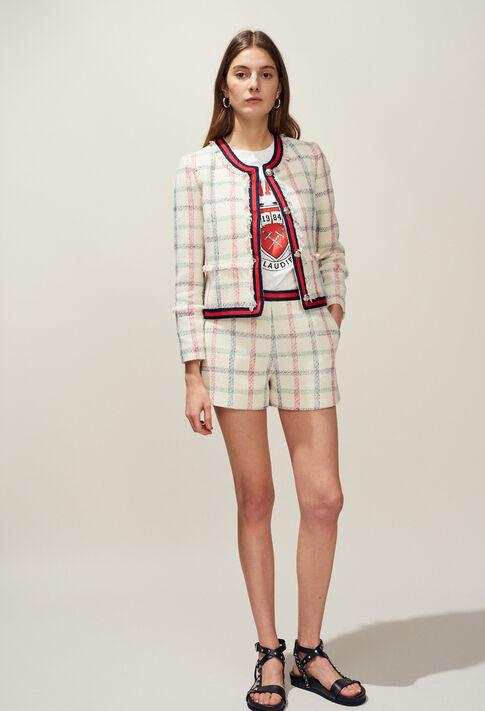ELA : Hosen, Rocke & Shorts farbe VANILLE