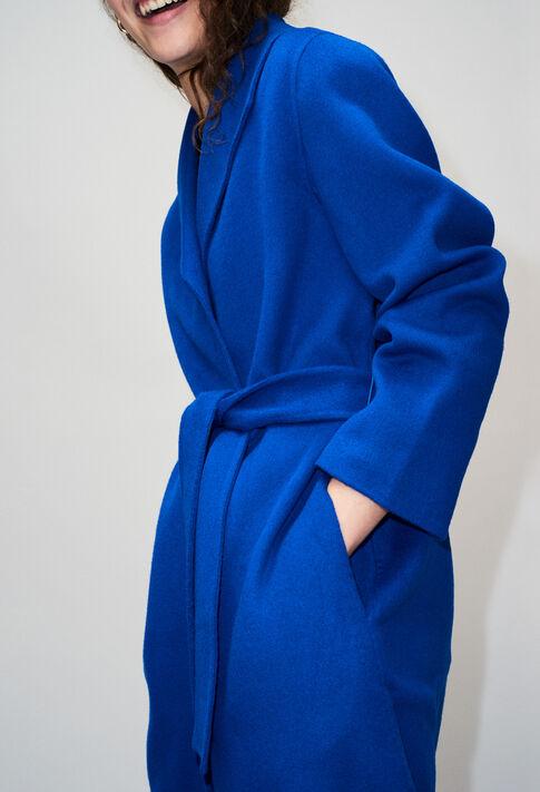GRACIEUXH19 : Mäntel & Blousons farbe BLEU ROI