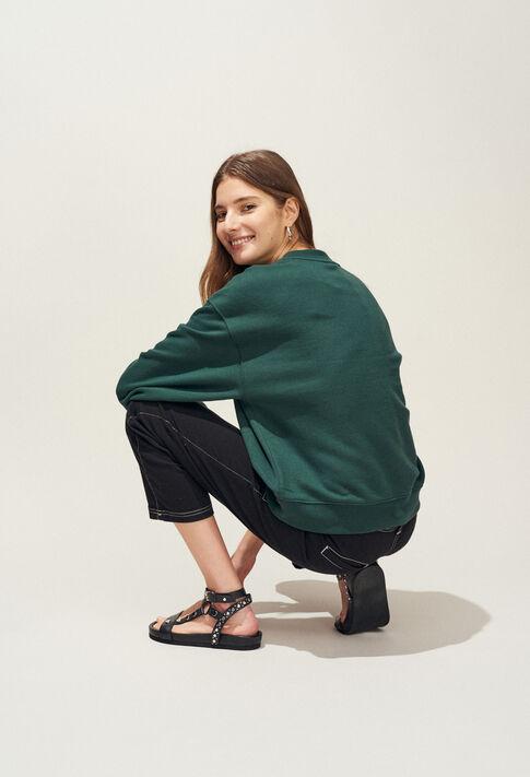 TREKKING : Strick & Sweatshirts farbe VERT IMPERIAL