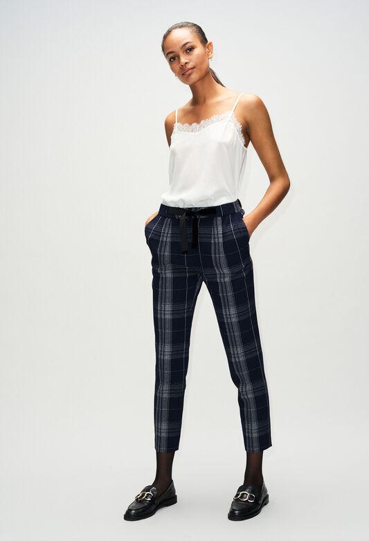 PIAH19 : Pantalons et Jeans couleur BICOLORE