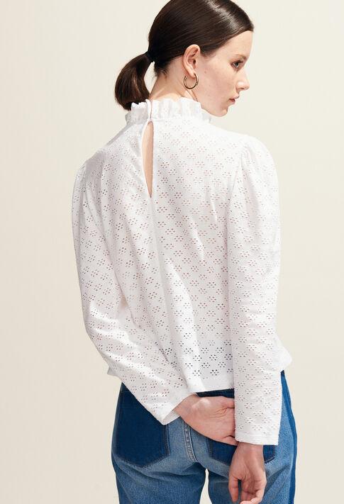 TRINIDAD : T-Shirts farbe Blanc