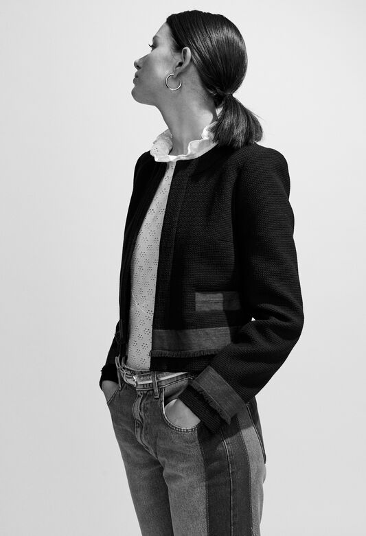 VOLODIA : Jacken farbe MARINE