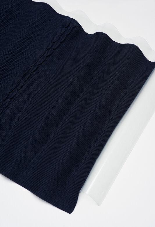 MIDIH19 : Halstücher & Schals farbe GRIS CHINE FONCE