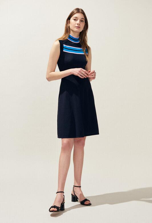 MURIEL : Kleider farbe MARINE