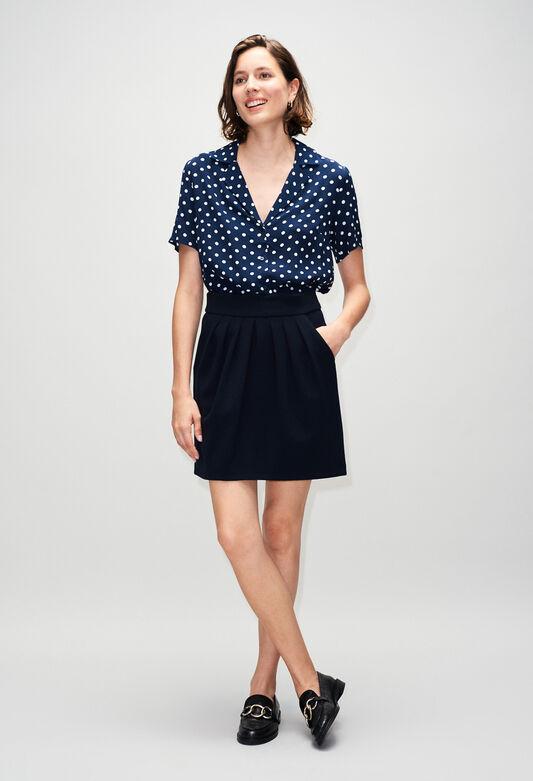 SYLVIAH19 : Röcke & Shorts farbe MARINE