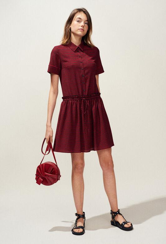 RHUBARBE : Kleider farbe NOIR