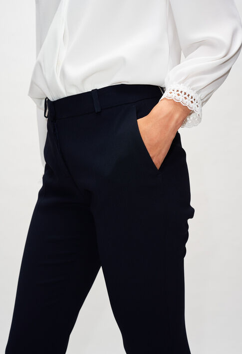 POULINH19 : Hosen & Jeans farbe MARINE