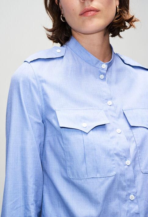 CINOH19 : Oberteile & Hemden farbe CHAMBRAY CLAIR - SHIRTING