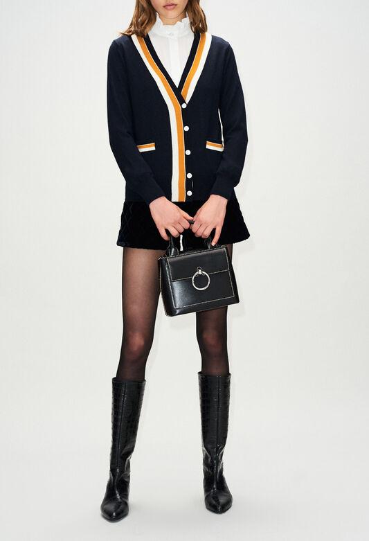 MACEDOH19 : Maille & Sweatshirts couleur MARINE