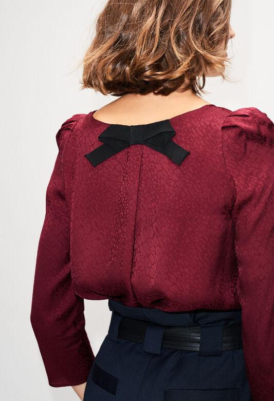 BANCJACH19 : Tops et Chemises couleur VELVET
