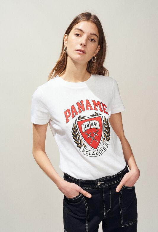 TAOSSA : T-Shirts farbe ECRU