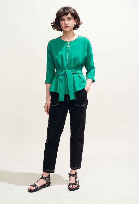 BAVIERE : Oberteile & Hemden farbe VERT VEGETAL