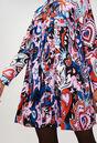 RAMSESH19 : Kleider farbe PRINT FONCE