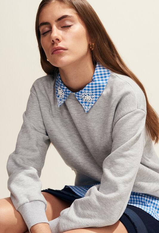 TAIPEI : Strick & Sweatshirts farbe GRIS CHINE