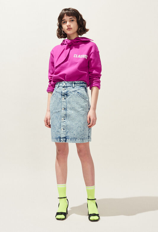 SOLE : Jupes et Shorts couleur JEAN