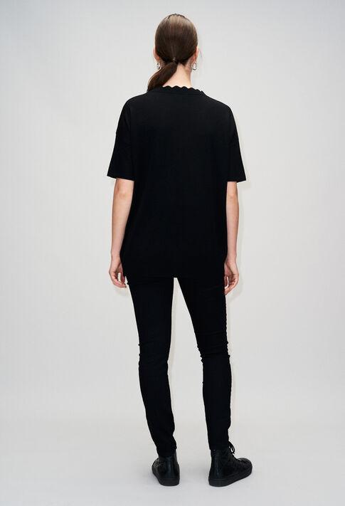 MELINEH19 : Maille & Sweatshirts couleur NOIR