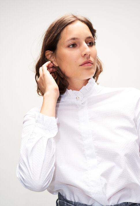 COLOMBINETERH19 : Tops et Chemises couleur BLANC