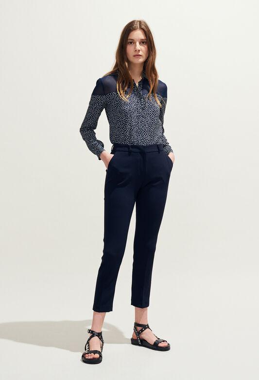POUSSIN : Hosen & Jeans farbe NOIR