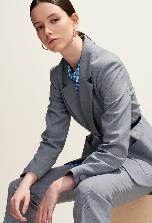 VALENTINA : Jacken farbe Gris Chine