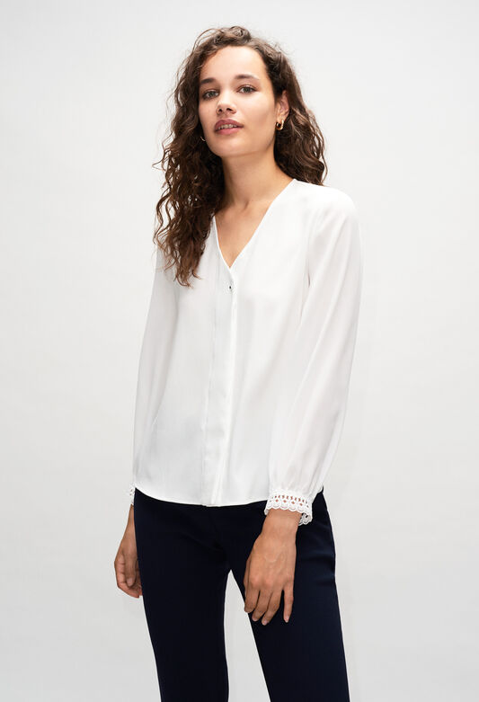 BOCOH19 : Tops et Chemises couleur ECRU