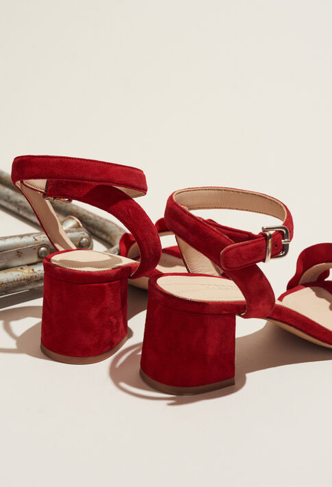 ANVERS TER : Schuhe farbe ROUGE