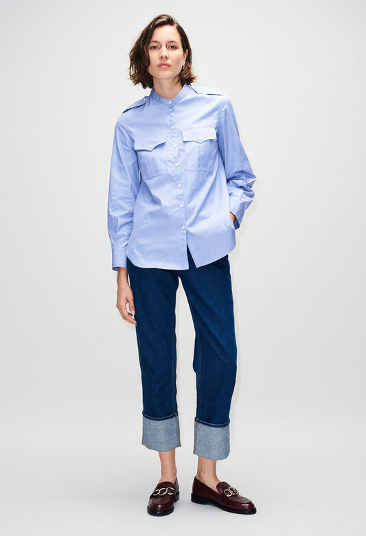 CINOH19 : Tops et Chemises couleur J003