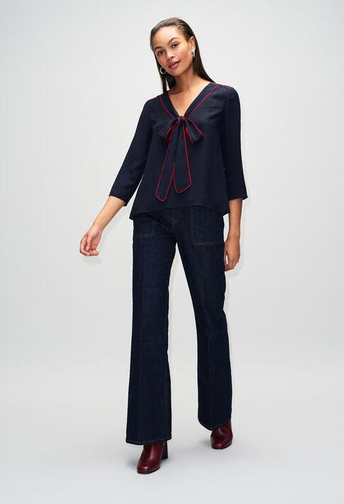 BELINAH19 : Oberteile & Hemden farbe MARINE