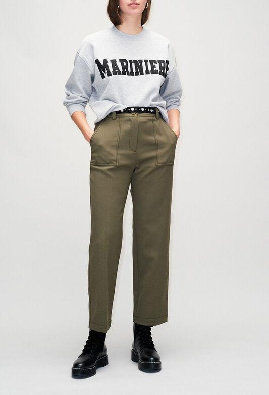 TYPOH19 : Strick & Sweatshirts farbe GRIS CHINE CLAIR