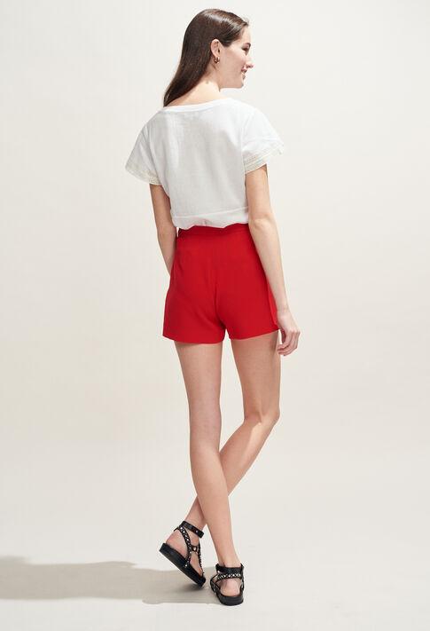 ERYNE : Jupes et Shorts couleur Ecarlate