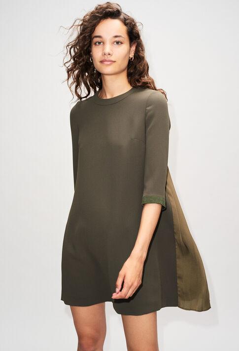 RIBAMBELLEH19 : Kleider farbe KAKI ARMY