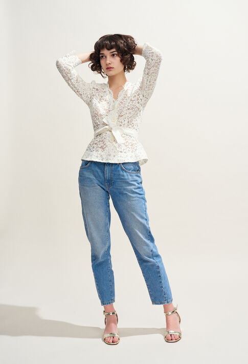 BLOSE : Tops et Chemises couleur Ecru