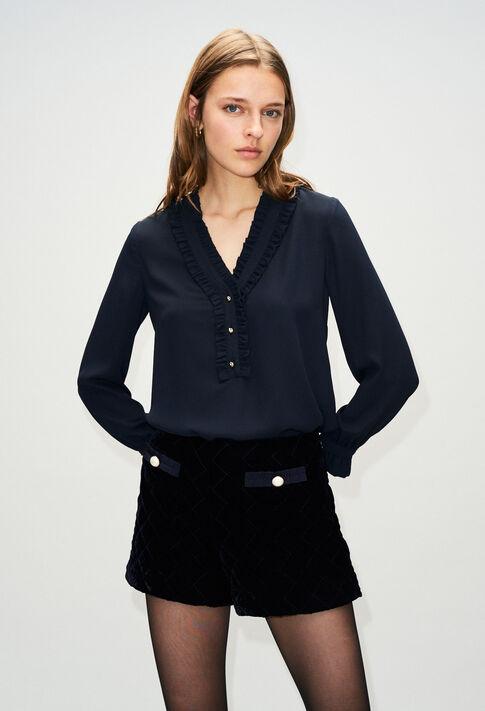 BUSINESSH19 : Oberteile & Hemden farbe MARINE
