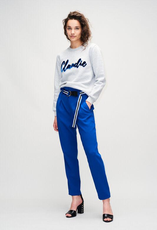 TOMYBISH19 : Strick & Sweatshirts farbe GRIS MELANGE