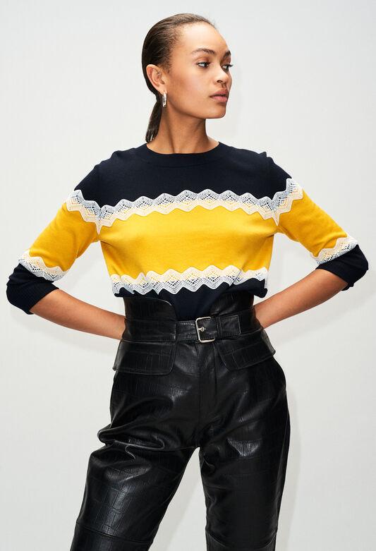 MAGNIAH19 : Strick & Sweatshirts farbe MARINE