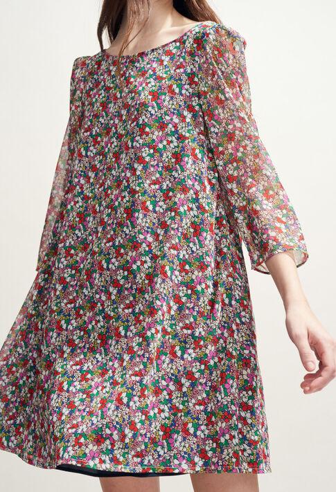 RIFIFI FLEURETTES : Robes couleur MULTICO