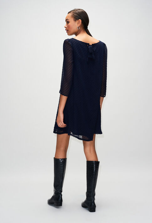 RIFIFIPLUMETISH19 : Kleider farbe MARINE