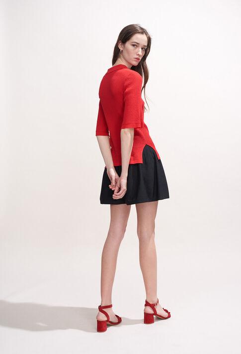 MALUNE : Strick & Sweatshirts farbe ECARLATE