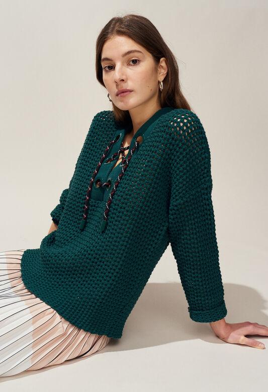 MODERNE : Strick & Sweatshirts farbe VERT IMPERIAL