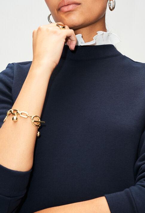TOURNONH19 : Strick & Sweatshirts farbe MARINE