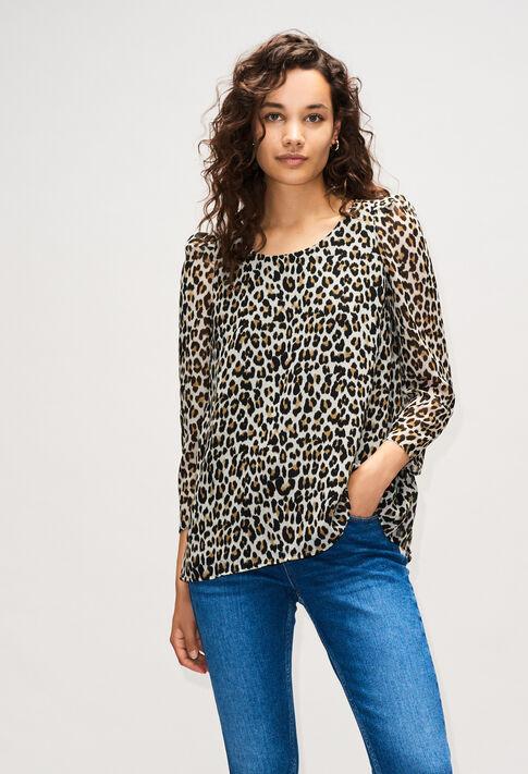 BANCLEOPARDH19 : Tops et Chemises couleur PRINT