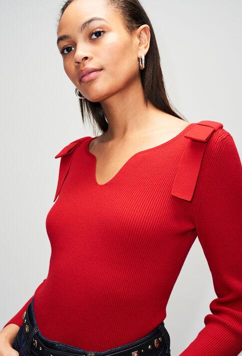 MYHEARTH19 : Strick & Sweatshirts farbe COQUELICOT
