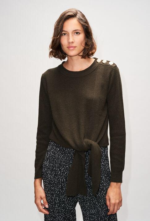 MATTH19 : Strick & Sweatshirts farbe KAKI ARMY