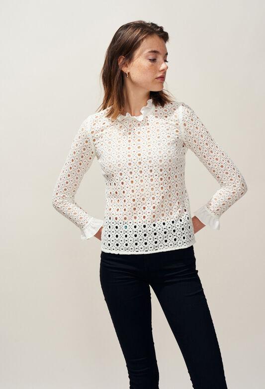 BARDBURY : Tops et Chemises couleur BLANC