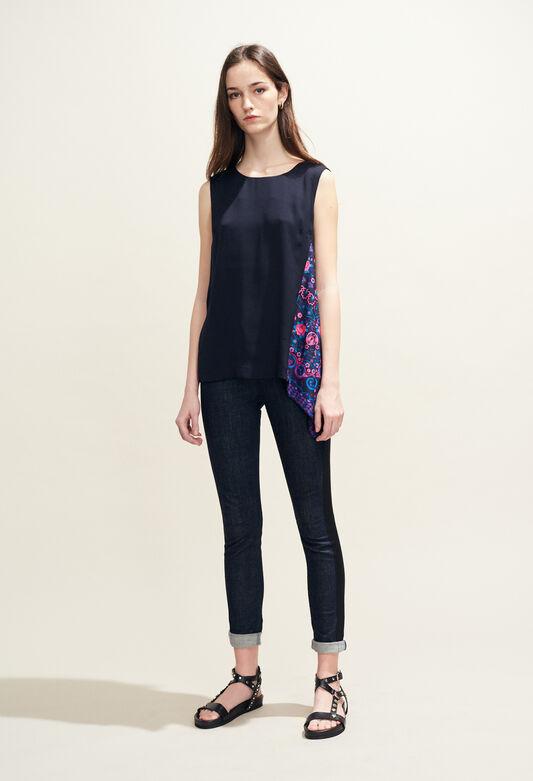 BALADINE : Tops et Chemises couleur MARINE