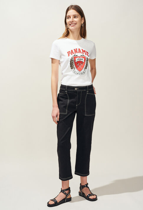 PECHE : Pantalons et Jeans couleur NOIR