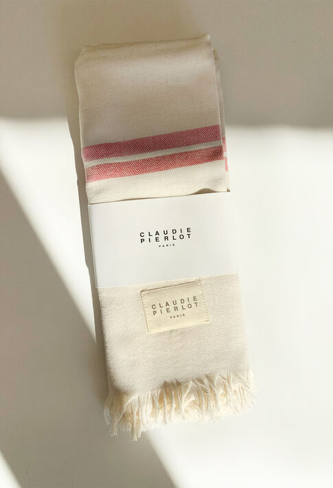 E19FOUTA GOODIES : gwp farbe Naturel