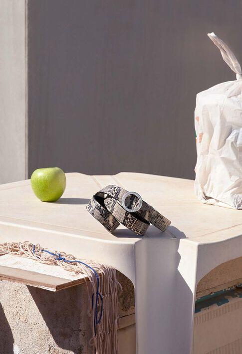 ALIGATO SNAKE : Gürtel farbe BEIGE