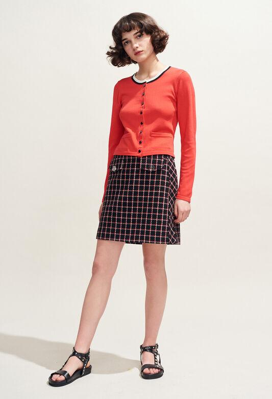 SIDONIE : Röcke & Shorts farbe NOIR